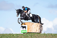 NZL-Nick Brooks (VERSACE C) CIC2* CROSS COUNTRY: 2015 NZL-Kihikihi International Horse Trial (Saturday 11 April) CREDIT: Libby Law COPYRIGHT: LIBBY LAW PHOTOGRAPHY