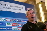 Picture by Allan McKenzie/SWpix.com - 25/09/2017 - Rugby League - Super League Dream Team 2017 - Aspire, Leeds, England - Daryl Powell is interviewed.