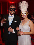 A photograph taken during the Nevada Masquerade Ball at the Peppermill in Reno on Saturday night, February 10, 2018.