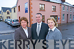 Home Instead Senior Care Cathy Courtney, office administrator, Tim Healy, proprietor, and Patricia O'Neill,.staff/client co-ordinator, outside their offices in Moyderwell.