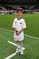 Pictured: Swansea City mascot. Saturday 17 September 2011<br /> Re: Premiership football Swansea City FC v West Bromwich Albion at the Liberty Stadium, south Wales.