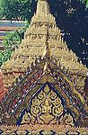 ORNATE DECORATION IN GRAND PALACE BANGKOK