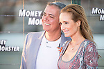 "Juan Ramon Lucas and his wife Sandra Ibarra during the premiere of the American Film ""Money Monster"" at the Roof of the Torre Picasso in Madrid. May 18 2016. (ALTERPHOTOS/Borja B.Hojas)"