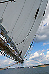 Images of The Canadian Maritime Provinces of Nova Scotia and Prince Edward Island. Bluenose II
