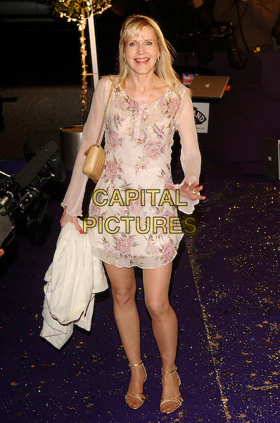 GUEST.British Comedy Awards 2006, London Television Studios, London, UK. - Arrivals.December 13th, 2006.full length pink floral print dress .CAP/PL.©Phil Loftus/Capital Pictures