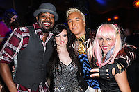 "LOS ANGELES, CA - JUNE 14: Dave Scott, Vikki Lizzi, Kuba Ka and Sabrina Parisi attends Polish popstar Kuba Ka performance for his single ""Stop Feenin'"" at Hyde Nightclub on June 14, 2013 in Los Angeles, California. (Photo by Celebrity Monitor)"