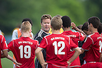 Westfield, IN - Monday, June 16, 2014: US Soccer U-13/14 Development Academy  Showcase in Grand Park, Westfield, IN.