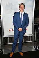 Blake Burt at the premiere for &quot;Geostorm&quot; at TCL Chinese Theatre, Hollywood. Los Angeles, USA 16 October  2017<br /> Picture: Paul Smith/Featureflash/SilverHub 0208 004 5359 sales@silverhubmedia.com