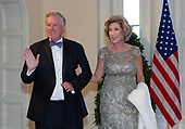United States Representative Mark Meadows (Republican of North Carolina) and Debbie Meadows arrive for the State Dinner hosted by United States President Donald J. Trump and First lady Melania Trump in honor of Prime Minister Scott Morrison of Australia and his wife, Jenny Morrison, at the White House in Washington, DC on Friday, September 20, 2019.<br /> Credit: Ron Sachs / Pool via CNP