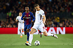 UEFA Champions League 2017/2018.<br /> Quarter-finals 1st leg.<br /> FC Barcelona vs AS Roma: 4-1.<br /> Edin Dzeko.