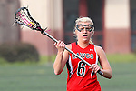 Santa Barbara, CA 02/18/12 - Jenna Dreyer (Georgia #6) in action during the Georgia-Michigan matchup at the 2012 Santa Barbara Shootout.  Georgia defeated Michigan 12-10.