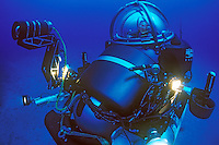 Sylvia Earle dives in a one-man submersible.