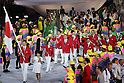 Japan Delegation (JPN), <br /> AUGUST 5, 2016 : <br /> Opening Ceremony <br /> at Maracana <br /> during the Rio 2016 Olympic Games in Rio de Janeiro, Brazil. <br /> (Photo by Koji Aoki/AFLO SPORT)