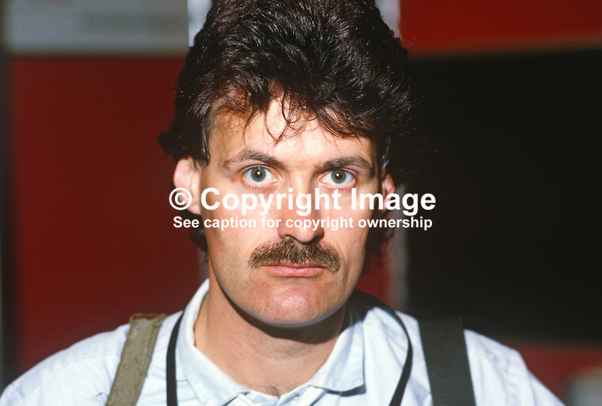 Martin Nangle, freelance press photographer, worked at one time for Pacemaker Press, Belfast, N Ireland, native of Banbridge. 19840089MN..Copyright Image from Victor Patterson, 54 Dorchester Park, Belfast, UK, BT9 6RJ..Tel: +44 28 9066 1296.Mob: +44 7802 353836.Voicemail +44 20 8816 7153.Skype: victorpattersonbelfast.Email: victorpatterson@me.com.Email: victorpatterson@ireland.com (back-up)..IMPORTANT: If you wish to use this image or any other of my images please go to www.victorpatterson.com and click on the Terms & Conditions. Then contact me by email or phone with the reference number(s) of the image(s) concerned.