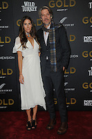 www.acepixs.com<br /> January 17, 2017  New York City<br /> <br /> Stephen Gaghan and Minnie Mortimer attending The World Premiere of 'Gold' at AMC Loews Lincoln Square 13 theater on January 17, 2017 in New York City.<br /> <br /> <br /> Credit: Kristin Callahan/ACE Pictures<br /> <br /> Tel: 646 769 0430<br /> Email: info@acepixs.com