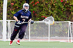 Orange, CA 05/16/15 - Andrew Kramer (Dayton #7) in action during the 2015 MCLA Division II Championship game between Dayton and Concordia, at Chapman University in Orange, California.