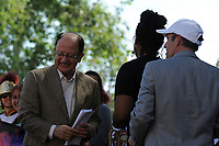 USC president C. L. Max Nikias kicked off the the event at the Los Angeles Times Festival of Books held at USC in Los Angeles, California on Saturday, April 22, 2017