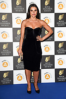LONDON, UK. March 19, 2019: Faye Brookes arriving for the Royal Television Society Awards 2019 at the Grosvenor House Hotel, London.<br /> Picture: Steve Vas/Featureflash