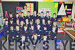 FIRSTDAY: What a day the teacher of Junior Infants of Ardfert NS on Thursday Deirdre Courtney (teacher). Front l-r: Kristian Lyne, EoinO'Flaherty and Shane O'Connor. Seated l-r: Keelan Best, Ainie Foley, Donnacha Foley, Kaci Heather-Peet, Eoin LawlorAdam Leen, Kristian Lyne, Jack McCarthy, Fionn McDonnagh,Dara McElligott, Sophie McGowan, Liam Meade, Jack Moriarty, Lilly Novak, Ellie O'Connor, Liam Og O'Connor, Meaghan Rachel and Shane O'Connor, Eoin O'Flaherty, Milly O'Halloran,Oisin O'Halloran,Lauren O'Sullivan, Syb Perry, Rodrigo Pincho, Sarah Sheehan, Patrick Stack, Kate Sweeney and Freyja Walsh. ....