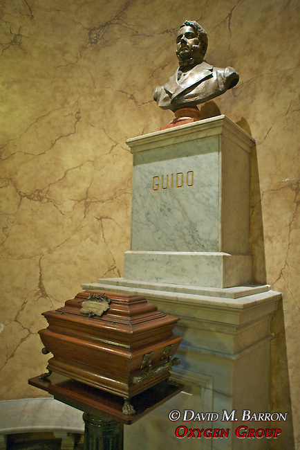 Remains Of Tomás Guido. (b. Buenos Aires, November 1, 1788 – d. September 14, 1866) was a General in the Argentine War of Independence a diplomat and a politician, Buenos Aires Metropolitan Cathedral