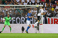 goal, Tor zum 3:0 für Leon Goretzka (Deutschland Germany) - 11.06.2019: Deutschland vs. Estland, OPEL Arena Mainz, EM-Qualifikation DISCLAIMER: DFB regulations prohibit any use of photographs as image sequences and/or quasi-video.