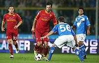 22-09-2010 Brescia italia sport calcio<br /> Serie A Tim 2010-2011  <br /> Brescia-Roma<br /> nella foto Mirko Vucinic<br /> foto Prater/Insidefoto