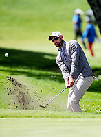 Daniel Pearce during the Charles Tour Augusta Funds Management Ngamotu Classic, Ngamotu Golf Course, New Plymouth, New Zealand, Saturday 14 October 2017.  Photo: Simon Watts/www.bwmedia.co.nz