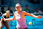 The tennis player Maria sharapova during the match against Na Li  in the Madrid Open Tennis Tournament. In Madrid, Spain, on 09/05/2014. Samuel de Roman/Photocall300