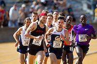 BERKELEY, CA - APRIL 23, 2016--Brutus Hamilton Challenge at Edwards Stadium-Goldman Field at University California Berkeley.