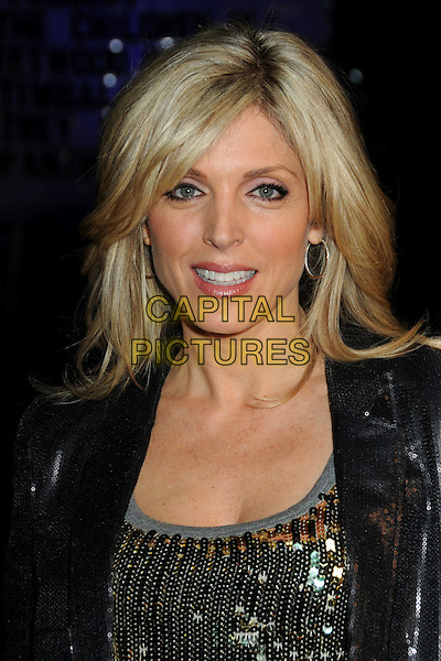 MARLA MAPLES .House of Blues Haiti Fundraiser Benefit for Project We.The.Children. held at The House Of Blues, West Hollywood, California, USA, 28th January 2010..portrait headshot black gold sequined sequins .CAP/ADM/BP.©Byron Purvis/AdMedia/Capital Pictures.