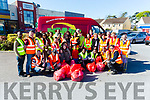 Volunteers who helped out at the Big Tralee Clean Up on saturday met up at McDonalds,Tralee on Saturday.