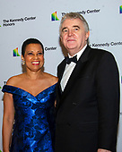 Harolyn Blackwell and Peter Greer arrive for the formal Artist's Dinner honoring the recipients of the 42nd Annual Kennedy Center Honors at the United States Department of State in Washington, D.C. on Saturday, December 7, 2019. The 2019 honorees are: Earth, Wind & Fire, Sally Field, Linda Ronstadt, Sesame Street, and Michael Tilson Thomas.<br /> Credit: Ron Sachs / Pool via CNP