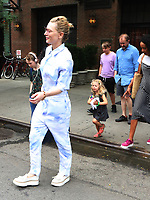 Cate Blanchett and family seen in New York City