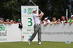 David Horsey teeing off on the 3rd tee during the first round of the 3 Irish Open, at the Killarney Golf and Fishing Club, Killarney, Ireland.Picture Fran Caffrey/www.golffile.ie.