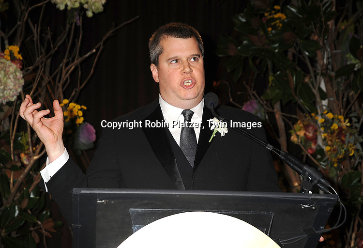 Daniel Handler, judge for Young People's Literature..at The 2008 National Book Awards Dinner and Ceremony on November 19, 2008 at Cipriani's Wall Street in New York City. ....Robin Platzer, Twin Images
