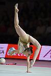 Sabina Tashkenbaeva (UZB), <br /> OCTOBER 4, 2015 - Rhythmic Gymnastics : <br /> AEON CUP 2015 Worldwide R.G. Club Championships <br /> Junior Individual <br /> at Tokyo Metropolitan Gymnasium, Tokyo, Japan. <br /> (Photo by AFLO SPORT)