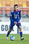 Suwon Midfielder Damir Sovsic in action during the AFC Champions League 2017 Group G match between Suwon Samsung Bluewings (KOR) vs Kawasaki Frontale (JPN) at the Suwon World Cup Stadium on 25 April 2017, in Suwon, South Korea. Photo by Yu Chun Christopher Wong / Power Sport Images