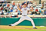 4 March 2012: Washington Nationals pitcher Tyler Clippard on the mound against the Houston Astros at Space Coast Stadium in Viera, Florida. The Astros defeated the Nationals 10-2 in Grapefruit League action. Mandatory Credit: Ed Wolfstein Photo