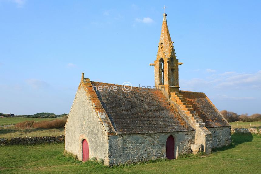 France, Finistère (29), Trégennec, chapelle Saint-Vio // France, Finistère, Trégennec, chapel Saint-Vio.
