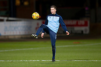 3rd March 2020; Dens Park, Dundee, Scotland; Scottish Championship Football, Dundee FC versus Alloa Athletic; Cammy Kerr of Dundee during the warm up before the match