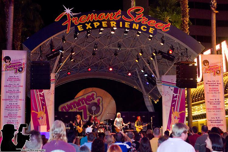 Platinum Rockstar plays 3rd Street Stage thru Saturday night