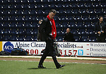 Louis van Gaal manager of Manchester United walks out to look at the pitch - FA Cup Fifth Round - Preston North End  vs Manchester Utd  - Deepdale Stadium - Preston - England - 16th February 2015 - Picture Simon Bellis/Sportimage