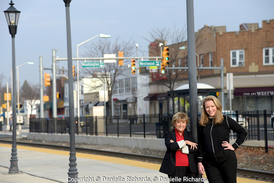 Barbara Nudelman and Katie Smith, Coldwell Banker Realtors, location shoot in Westwood, NJ 12/13/15  Barbara Nudelman and Katie Smith, Coldwell Banker Realtors, location shoot in Westwood, NJ 12/13/15