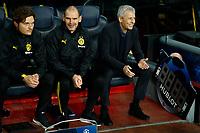 27th November 2019; Camp Nou, Barcelona, Catalonia, Spain; UEFA Champions League Football, Barcelona versus Borussia Dortmund;  Lucien Favre coach of Dortmund - Editorial Use