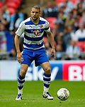 Joey van den Berg of Reading during the SkyBet Championship Play Off Final match at the Wembley Stadium, England. Picture date: May 29th, 2017.Picture credit should read: Matt McNulty/Sportimage