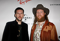 LOS ANGELES, CA - FEBRUARY 10: T.J. Osborne and John Osborne of the Brothers Osborne attends Universal Music Group's 2019 After Party at The ROW DTLA on February 9, 2019 in Los Angeles, California. Photo: CraSH/imageSPACE / MediaPunch