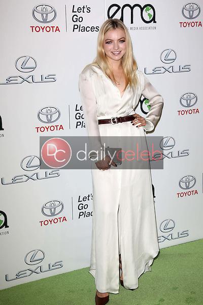 Francesca Eastwood<br /> at the 23rd Annual Environmental Media Awards, Warner Brothers Studios, Burbank, CA 10-19-13<br /> David Edwards/DailyCeleb.Com 818-249-4998