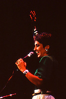 1986, Joan Baez performing at the Opera House in Boston, MA March 23