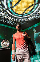 Rotterdam, The Netherlands, 11 Februari 2019, ABNAMRO World Tennis Tournament, Ahoy, first round singles: Nikoloz Basilashvili (GEO),<br /> Photo: www.tennisimages.com/Henk Koster