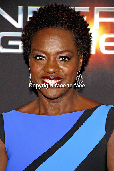 Viola Davis at the Los Angeles Premiere of &quot;Ender's Game&quot; held at the TCL Chinese Theater in Hollywood on October 28, 2013 in Los Angeles, California.<br />